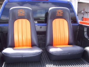 Reupholstered Seats